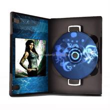 China CD/DVD gift box multi DVD binder 4 CDs Per sheet