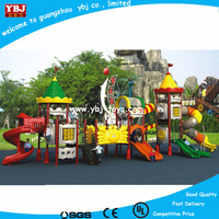 OEM Plastic children outdoor playground big slides for sale