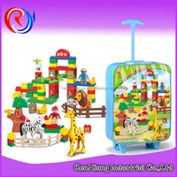 Hot sale DIY educational plastic building block toy for kids