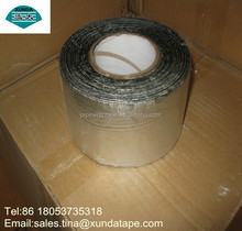 100mm x 10m Aluminum coating self adhesive roofing sealing tape