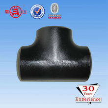 High Quality Ceramic Lined Seamless Carbon Steel Tee
