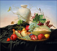 Canvas Prints from custom pictures Classicism Decorative Fruit Painting