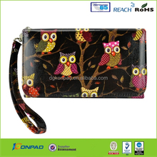 Leather phone case printer with wallet design