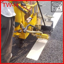 2012 Newly Designed Factory Direct Offer Guangzhou TOP WAY TRAFFIC TW-H Glass bead hot melt marking machine for sale in China