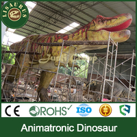 Lisaurus-J Amusement park attraction life-size t-rex dinosaur