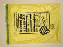 Draw Tape Bag plastic colored garbage drawstring bag