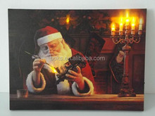 Christmas decoration LED canvas picture