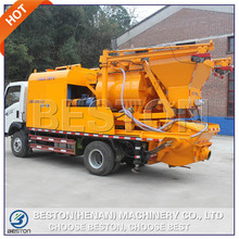 Electric or diesel truck mounted concrete mixer pump from leading manufacturer for ASEAN market