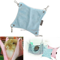 Cute Plush Warm Hammock Hanging Bed Cave For Hamster Rat Bed Pets Cage House