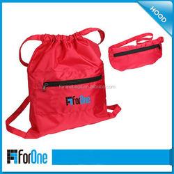 shopping canvas fashionable foldable backpack