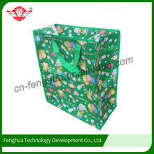 Discount Colorful Fashion Multicolor recycable shopping bag