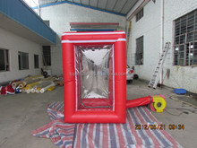 Top Inflatable advertising money catch inflatable new arrival money catch booth