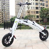 12'' mini folding e scooter aluminum bike frame