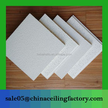 600mm*600mm white board mineral fiber ceiling boards