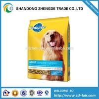Clear Window Side Gusset Dog Food Bag, Flat Bottom Pet Food Bag