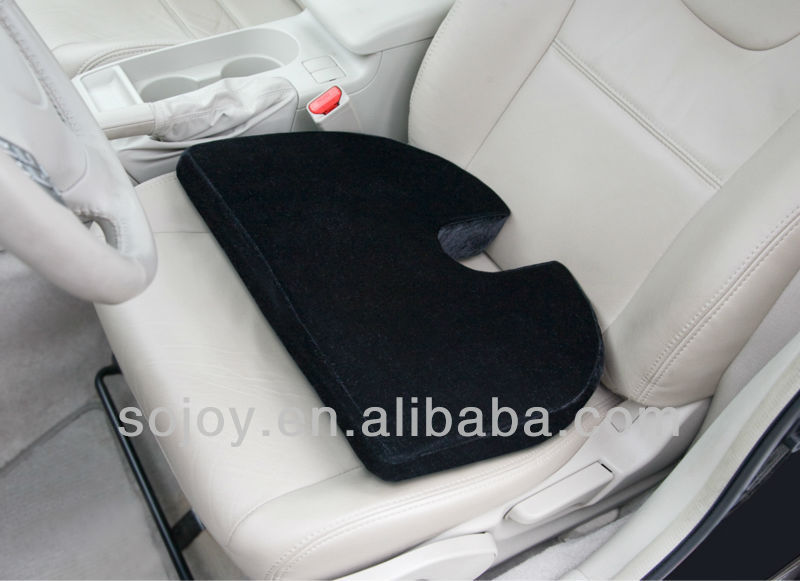 black wedge coccyx cushion for car home and office use. Black Bedroom Furniture Sets. Home Design Ideas