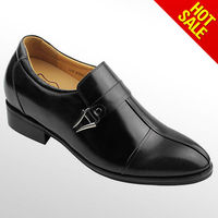genuine leather dress shoes for men elevator shoes
