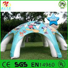 disegno piacevole 6 zampe esterni gonfiabili bambini giocare tenda tenda gonfiabile per i bambini
