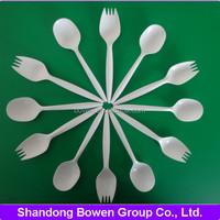 plastic cutlery disposable tableware biodegradable tableware