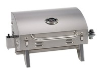 Stainless Steel Portable Table Top outdoor Propane Gas BBQ Barbecue Grills for Indoor&Camping Outdoor Kitchen Cooking Equipment