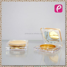 Square luxury cosmetic packaging powder case