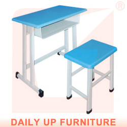 College Table and Chair Fixed School Table And Chairs In The Classroom Plastic Chair Desk Combo