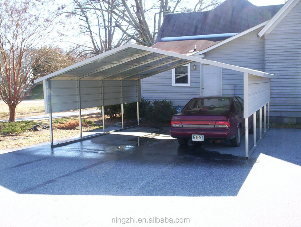 Portable Carport With Shed : Carport garage design portable metal car shed buy
