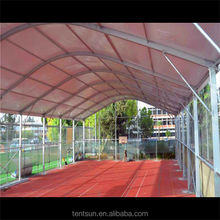 40x120m TFS series curve tent for tennis court , swimming pool tents and basketball