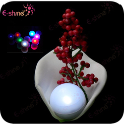 2015 New Waterproof Multi-colors Sharp Bright White Color Led Fairy Peals