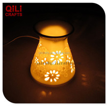 Manufacture wholesale electric oil warmer, ceramic aroma burner, fragrance lamp