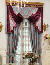 100% polyester jacquard organza curtains