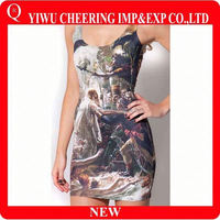 cutting and sewing dress,turkish style dress,cheap bandage dress
