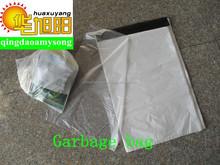 HDPE clear plastic food packaging bag dispenser for supermarket