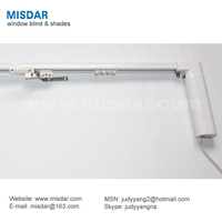 Electrophoresis Electric Curtain Rod, remote curtain rod, electric drapery rod