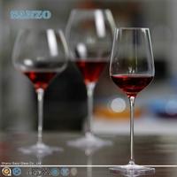 SANZO cheap wholesale speckle martini wine glasses with short stem