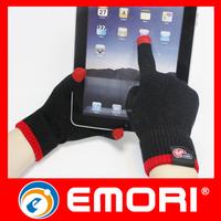 Custom logo sensitive smart phone touch screen gloves