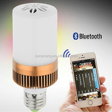 Free samples with free shipping bluetooth bulb speaker