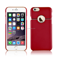 hot sale stylish hard dull polish polycarbonate pc case cover with embossed matel for iPhone 5/ 6