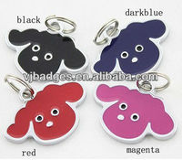 2013 new product animal silicon dog pet tags