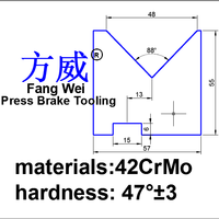CNC tools die for press brake in china amada promecam vertical angle punch