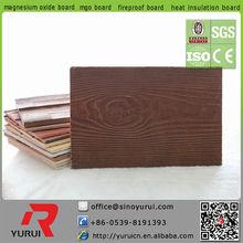 Yurui mineral faux wood texture hot sales