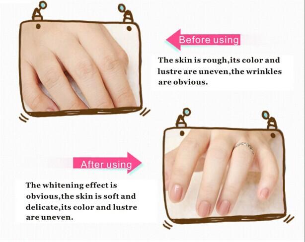 Les masques pour la peau combinée le blanchiment
