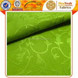 Green lining custom woven jacquard curtains and fabrics