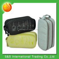2015 Light Weight Data Cable Practical Earphone Wire Storage Bag Power Line Organizer electric bag