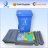 100% pp 120L Mobile Oil Spill Response Kits For Emergency Spill Control For Safety Equipment hot sales