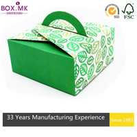 Small Cake Box With Handle, High Quality Cake Box With Handle,Take Away Cake Box With Handle