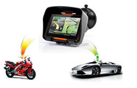 "Special motorcycle 4.3"" Handsfree motorbike sat nav navigation GPS with bluetooth,FM,e-book,video"