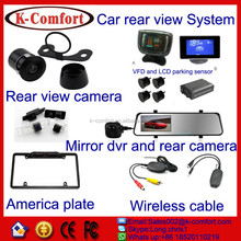 K-comfort factory derectly sell eu license plate mount camera for export to all over the world