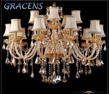 15 Arms Modern Crystal Chandelier Luxury Decor Bestselling in America CCFL-DD002