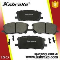 Top Quality Ceramic Auto Brake Pad D1005 04465-0W070 for Lexus RX350 Car Accessories Japan